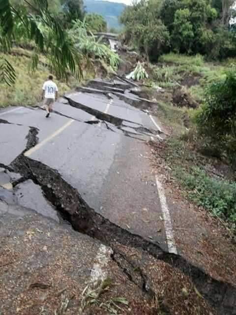 Una falla geológica afecta a varios poblados de Utcubamba - Radio Santa  Monica